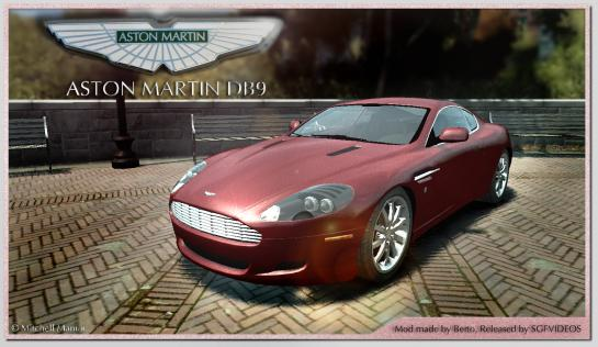 Моды для GTA 4. Машины/ Aston Martin