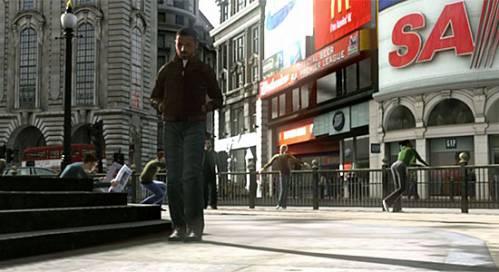 GTA Лондон. Скриншот не настоящий