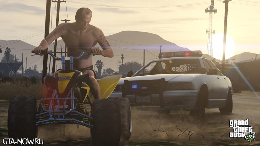 Тревор на скриншоте GTA 5