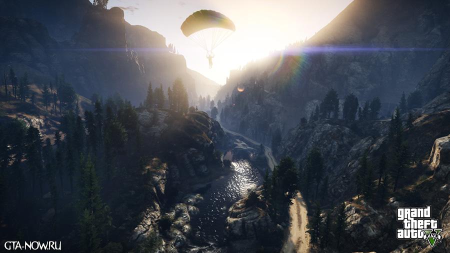 GTA 5 горы