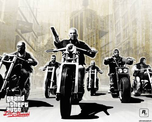 Новые обои GTA 4 The Lost and Damned