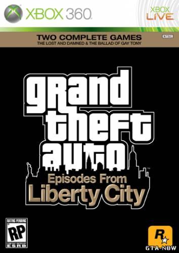 Первый арт GTA 4: The Ballad of Gay Tony