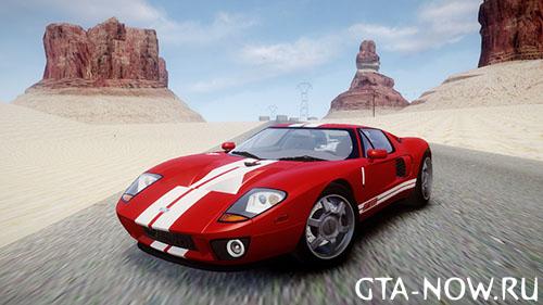 Спортивный автомобиль GTA 4