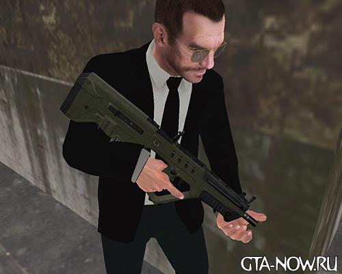GTA 5 оружие TAR-21