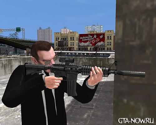Автомат для GTA 4