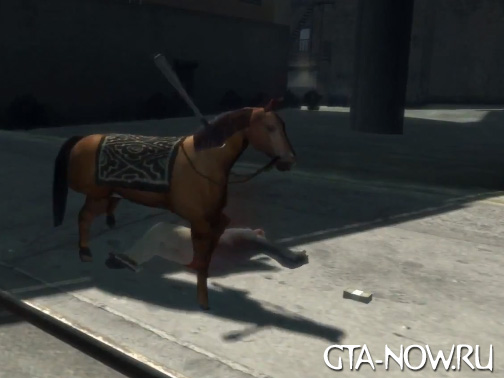 Сумасшедшая коняшка GTA 4