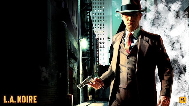 L.A. Noire Original Artwork: Detective Cole Phelps