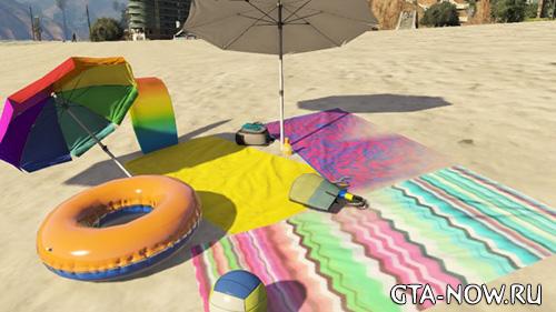 Пляж GTA 5