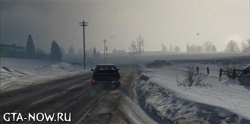 зима в GTA 5