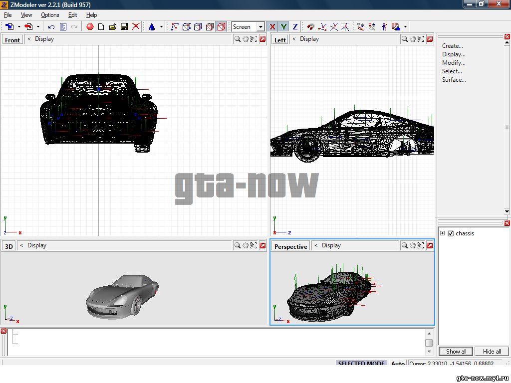 Kuro Modder Garage: Download Zmodeler 3 Full Crack