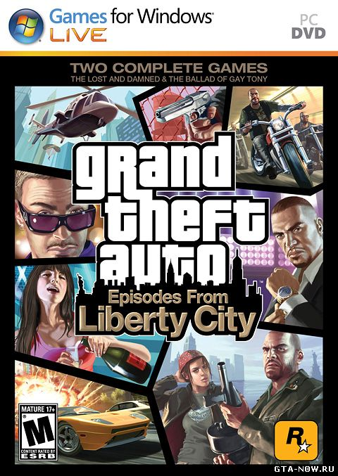 Скачать Grand Theft Auto: Episodes from Liberty City на PC