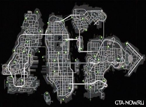 Карта брони GTA 4