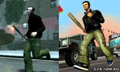 Секреты в GTA 4. Одежда из GTA III