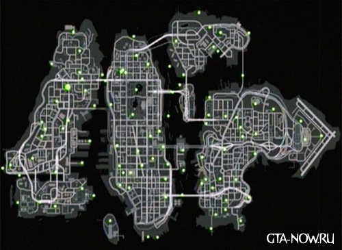 Карта голубей GTA 4