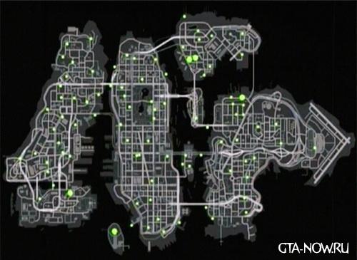 Карта голубей 2 GTA 4