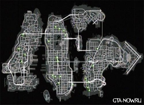 Карта незнакомцев GTA 4