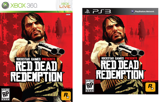 Red Dead Redemption - Official Cover Art Revealed